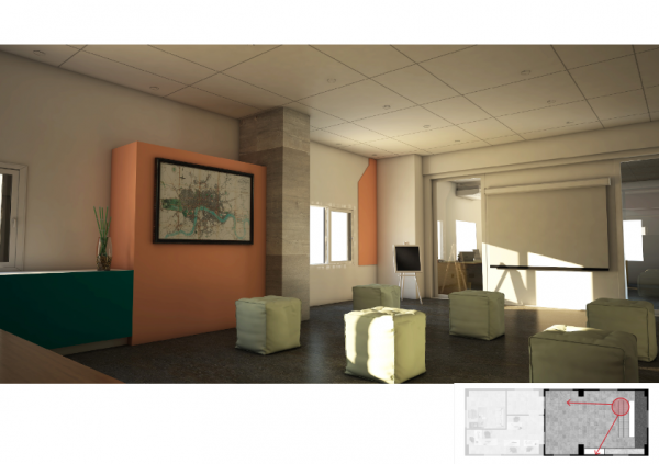 FEPS-BI office area and Co-working space