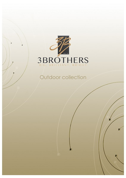 """3BROTHERS for lighting design competition   """"ORBITAL"""" outdoor collection."""
