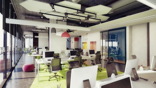 Office space design