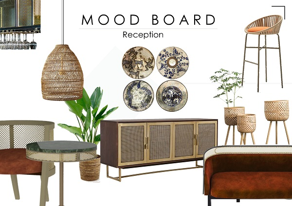 combining between global and local styles for a new level of designing merging between cultures, heritage and handcrafts of Tunis village and luxury modern materials and lines.