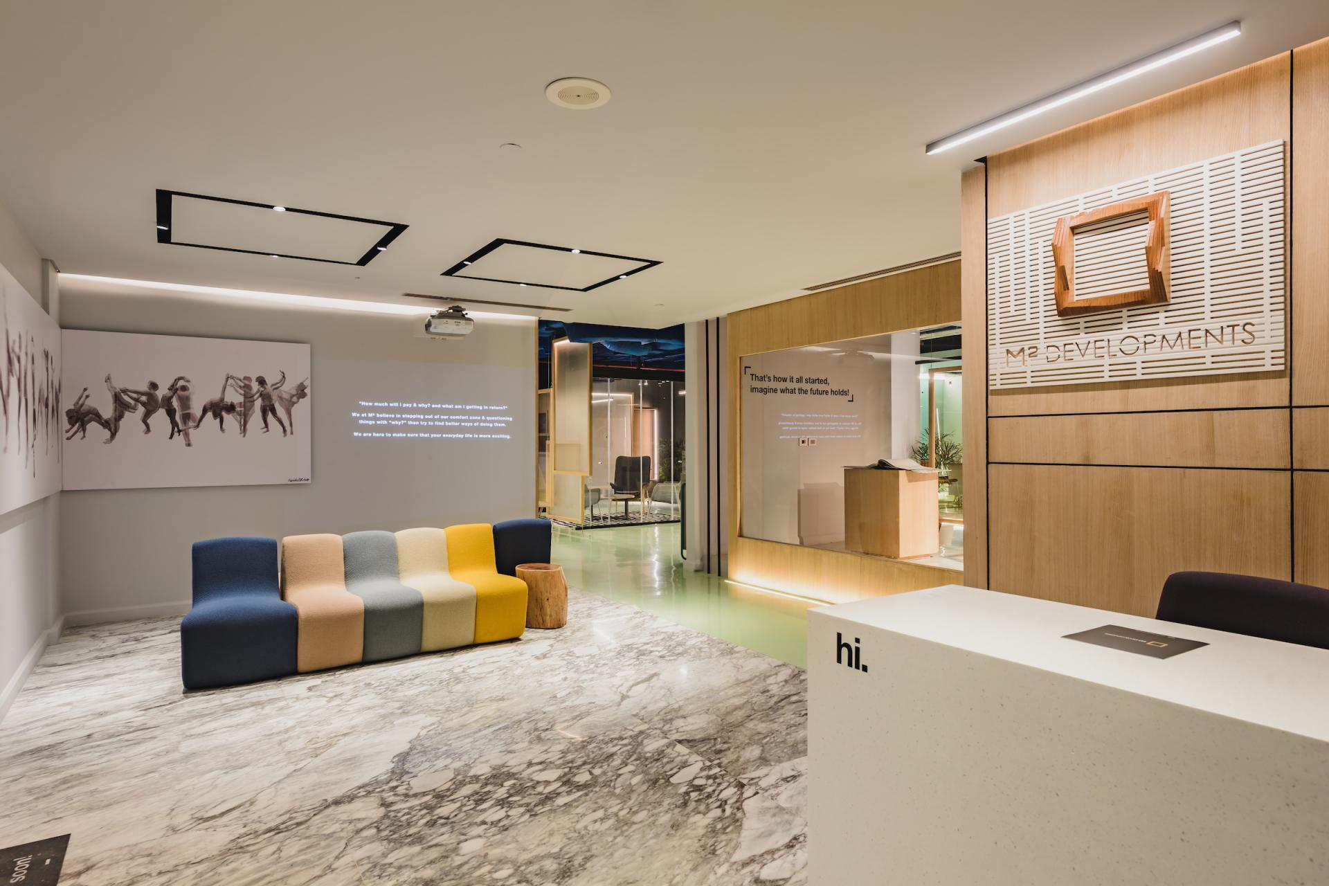 M SQUARED SALES OFFICE