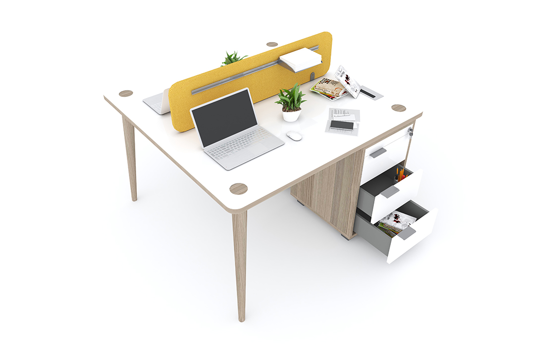 Domino Workstation With Drawer