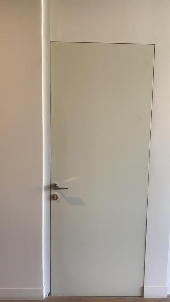 No Frame Door