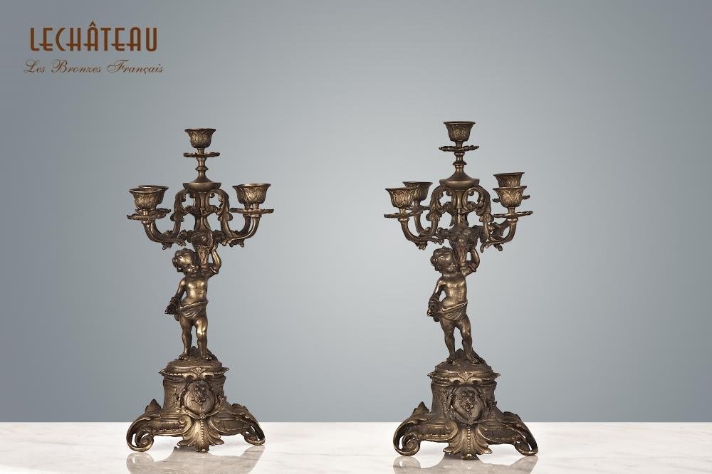 Candle Holder Can.61184